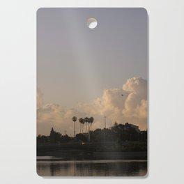 Pall Tree Skies Cutting Board
