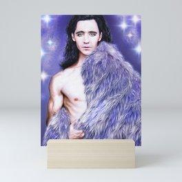 Loki - A Study In Seduction IX Mini Art Print