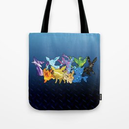 """The Dream Team"" - X & Y Eeveelutions Tote Bag"