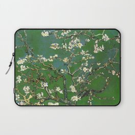 Almond Blossom - Vincent Van Gogh (avocado pastel) Laptop Sleeve