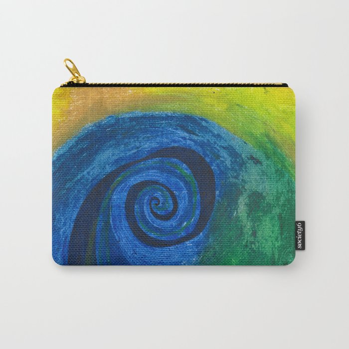 Abstract Poetic Carry-All Pouch