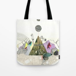 Climbers - Cool Kids Climb Mountains Tote Bag