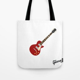 Gibson Les Paul Red Tote Bag