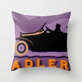 Adler autos 1913 Throw Pillow