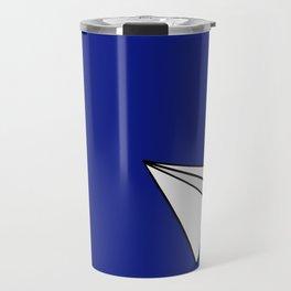 Paper Plane Travel Mug