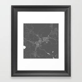 Flagstaff USA Modern Map Art Print Framed Art Print