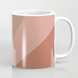 Earthy Diagonals Coffee Mug