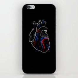 human heart iPhone Skin