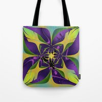 60s Tote Bags featuring 60s Reunion by Jim Pavelle