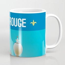 Baton Rouge, Louisiana - Skyline Illustration by Loose Petals Coffee Mug