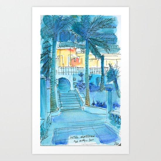 Hotel Olofson Art Print