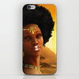 African Princess iPhone Skin
