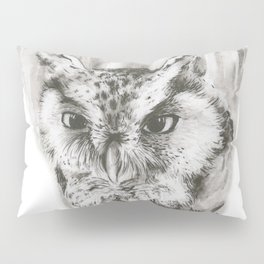 Owl Stare by annmariescreations Pillow Sham