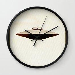 UFO Skyline Wall Clock