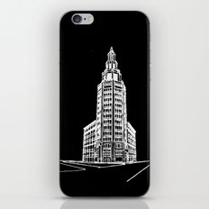 the Electric Tower at Night iPhone & iPod Skin