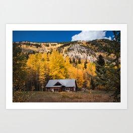 Beginnings of Autumn Art Print