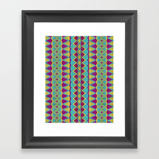 Tribal Entity Framed Art Print