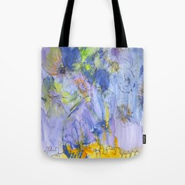 The Blue Harmony Tote Bag