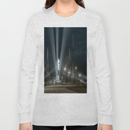 Why Do Rockets Launch At Night Long Sleeve T-shirt