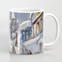 Snowy Hogsmeade Coffee Mug