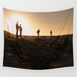 Photographers At Sunset Wall Tapestry