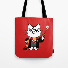 Wizardkitty Griffin House! Tote Bag