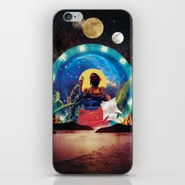 lunar tides of a Wombyn iPhone Skin
