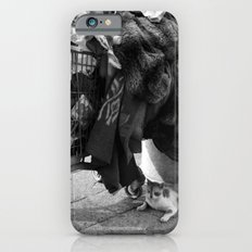 homeless cat iPhone 6s Slim Case