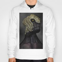 ripley Hoodies featuring Ripley by Lowri W. Williams