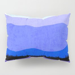 Blue Ridge Mountains Pillow Sham
