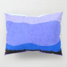 Blue Ridge Mountains Pillow Sham