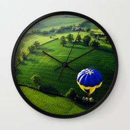 Above The Shires Wall Clock