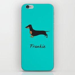 Frankie the Dachshund iPhone Skin