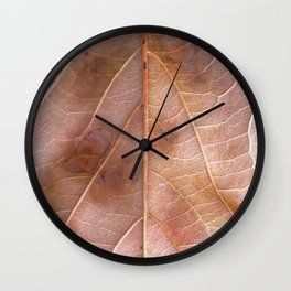 The Summer's Gone Wall Clock