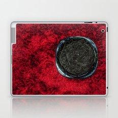 Food 1: Black Linguine on Black Plate Laptop & iPad Skin