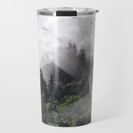 Forest triangle Travel Mug