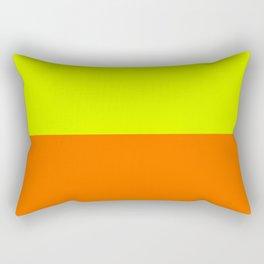 2-Tone Neon Rectangular Pillow