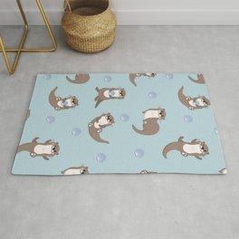 Kawaii Harry Otter Cute Pattern Rug