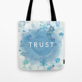 Trust your heart Tote Bag
