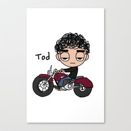 Tod Cycle Canvas Print