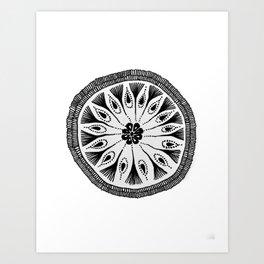Drum Circle Art Print