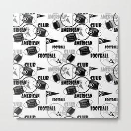 American football 1 Metal Print