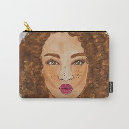 Blow A Kiss Carry-All Pouch