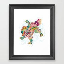 Shiisa - The Lion Framed Art Print