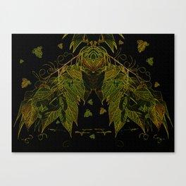 Leaves V1 Canvas Print