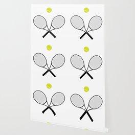 Tennis Racket And Ball 2 Wallpaper