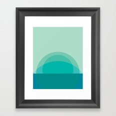 Cacho Shapes LXIV Framed Art Print