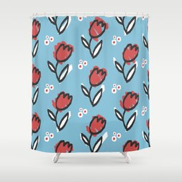 Bring me tulips Shower Curtain