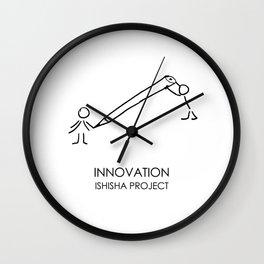 INNOVATION by ISHISHA PROJECT Wall Clock