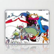 白長須 - shironagasu Laptop & iPad Skin